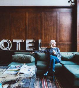 meble w hotelu
